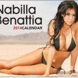 Nabilla Benattia - La couverture de son calendrier sexy de 2014
