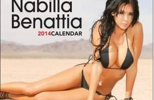 Nabilla Benattia : Poses lascives et torrides pour son calendrier sexy