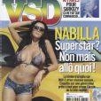 Nabilla, très sexy, en Une de VSD, à paraître le jeudi 28 mars 2013.