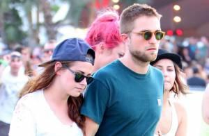 Robert Pattinson et Kristen Stewart: Les amoureux main dans la main à Coachella