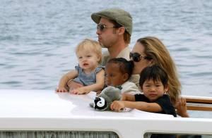 PHOTOS : Angelina Jolie et Brad Pitt : une magnifique famille !