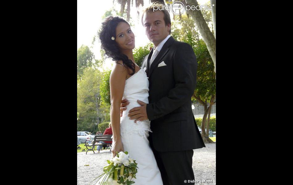 Samia et Boher lors de leur mariage
