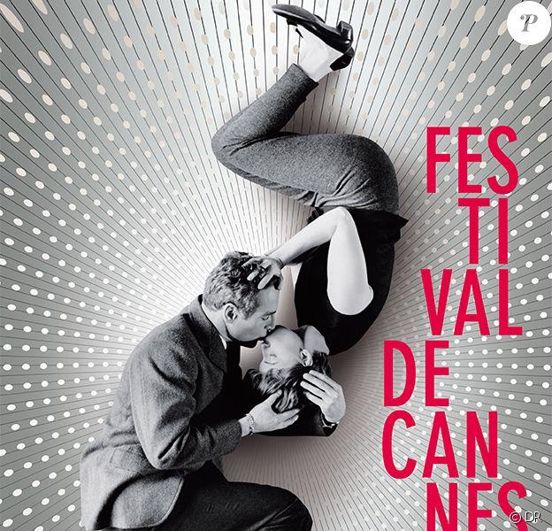 L'affiche du 66e Festival de Cannes qui se tiendra du 15 au 26 mai 2013