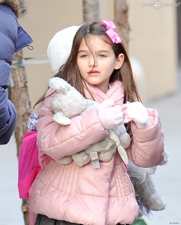 Suri à l'école à New York, le 29 novembre 2012.