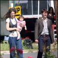 EXCLUSIF - Tom Cruise avec Katie Holmes et leur fille Suri le 15 mai 2007
