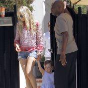 Kimberly Stewart : Sa fille Delilah fait ses premiers pas !
