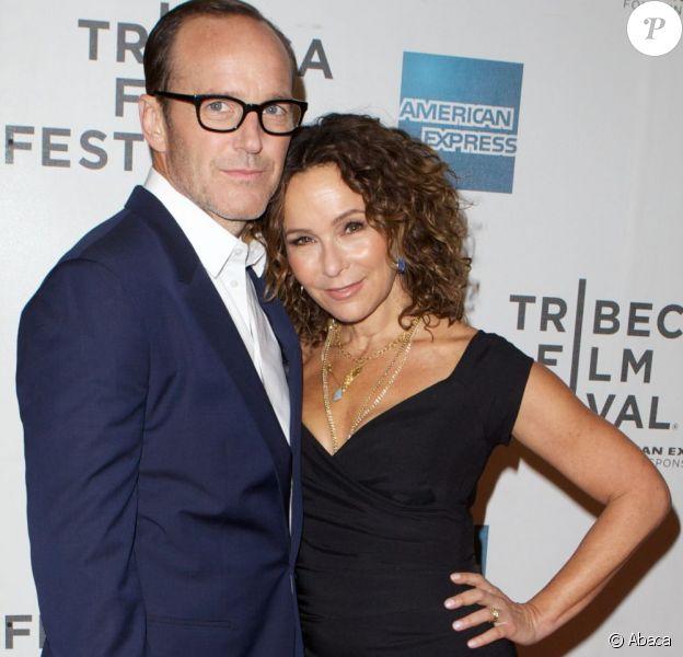 Jennifer Grey et son mari Clark Gregg à la première du film Trust Me au Festival du film de Tribeca, à New York, le 20 avril 2013.