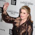 Catherine Deneuve lors du gala Chaplin Awards à New York le 22 avril 2013