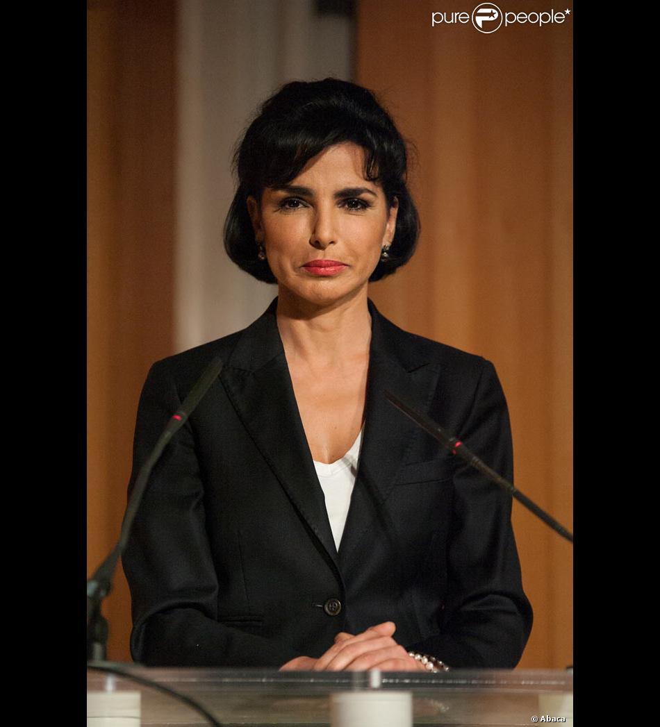 Rachida Dati le 18 avril 2012 à Paris