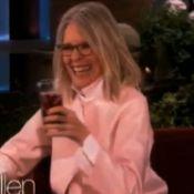 Diane Keaton : Enivrée, elle se lâche et parle sexe chez Ellen DeGeneres