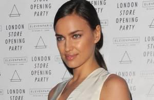 Irina Shayk : Ravissante à Londres, son chéri Cristiano Ronaldo rumine