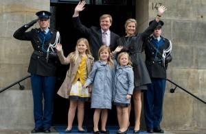 Willem-Alexander des Pays-Bas roi : Répétition avec les quatre femmes de sa vie