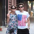 Keira Knightley et son chéri dans les rues de New York le 1er juillet 2012.
