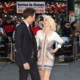 Max Rogers et Kimberly Wyatt à la première du film Star Trek Into Darkness à Londres, le 2 mai 2013.