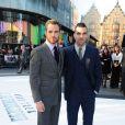 Chris Pine et Zachary Quinto à la première du film Star Trek Into Darkness à Londres, le 2 mai 2013.