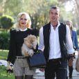 Gwen Stefani, son mari Gavin Rossdale et leurs fils Kingston et Zuma à Los Angeles, le 22 novembre 2012.
