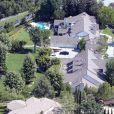 Maison de Jennifer Lopez à Hidden Hills, le 28 avril 2013.