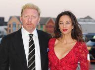 Lilly Kerssenberg : Sublime et très rouge au côté d'un très fier Boris Becker