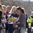 Victoria et Daniel de Suède en visite dans le comté de Västra Götaland, à Göteborg, le 3 mai 2013.
