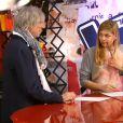 La chanteuse Louane, dans The Voice 2 sur TF1, le samedi 4 mai 2013.