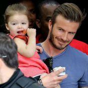 David Beckham et Victoria : Déjeuner avec Harper et les garçons à la Tour Eiffel