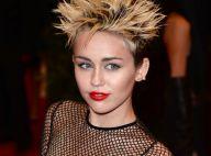 Miley Cyrus : Coupe en pétard et robe résille pour le MET Ball 2013
