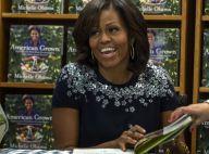 Michelle Obama : Décontraction et dédicaces pendant que Barack parle politique