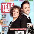 Cyril Féraud et Mireille Dumas s'expriment sur l'Eurovision dans les pages de Télé Poche en kiosques le 13 mai 2013.