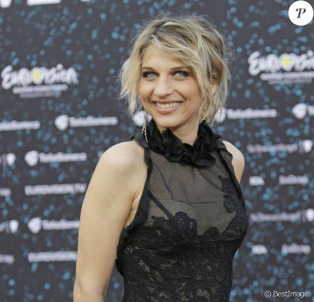Amandine Bourgeois représente la France lors de l'Eurovision 2013, à Malmo en Suède, le 12 mai 2013.