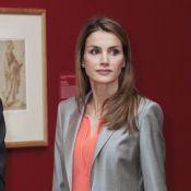 Letizia d'Espagne : Une gravure de mode au Prado, devant des dessins fameux