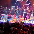 La Sexion d'Assaut interprète un medley des titres de l'album L'Apogée lors des Trace Urban Music Awards. Paris, le 14 mai 2013.