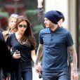 David et Victoria Beckham à Paris le 4 mai 2013