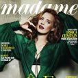 Couverture de Madame Figaro en kiosques le 17 mai avec Jessica Chastain