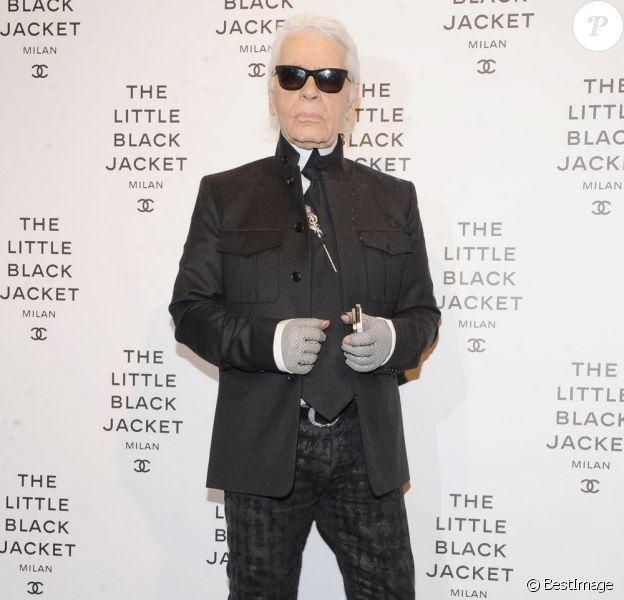 Karl Lagerfeld en avril 2013