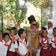 Beyoncé lors de son voyage à Cuba avec Jay-Z en avril 2013