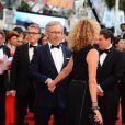 Steven Spielberg et Kate Capshaw lors de la montée des marches du film Inside Llewyn Davis lors du 66e festival du film de Cannes, le 19 mai 2013.