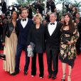 Karine Silla, Vincent Perez, Danièle Thompson, Daniel Auteuil et Aude Ambroggi lors de la montée des marches du film Inside Llewyn Davis lors du 66e festival du film de Cannes, le 19 mai 2013.