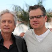 Cannes 2013 : Michael Douglas, ses larmes avant de retrouver son ami Matt Damon