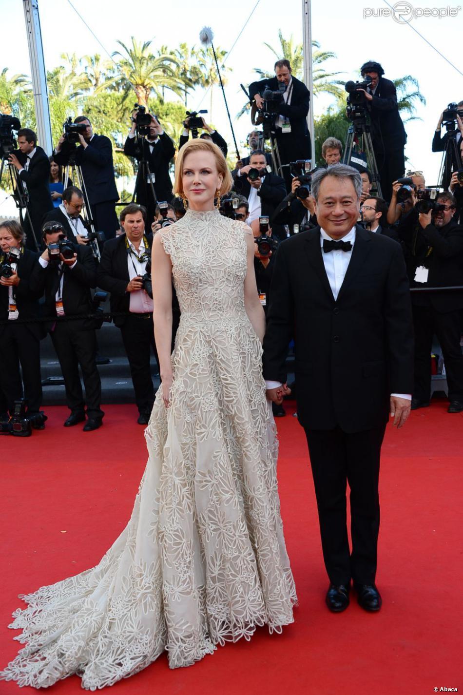 """Nicole Kidman et Ang Lee - Montée des marches du film """"Nebraska"""", présenté en compétition, lors du 66e Festival de Cannes, le 23 mai 2013."""