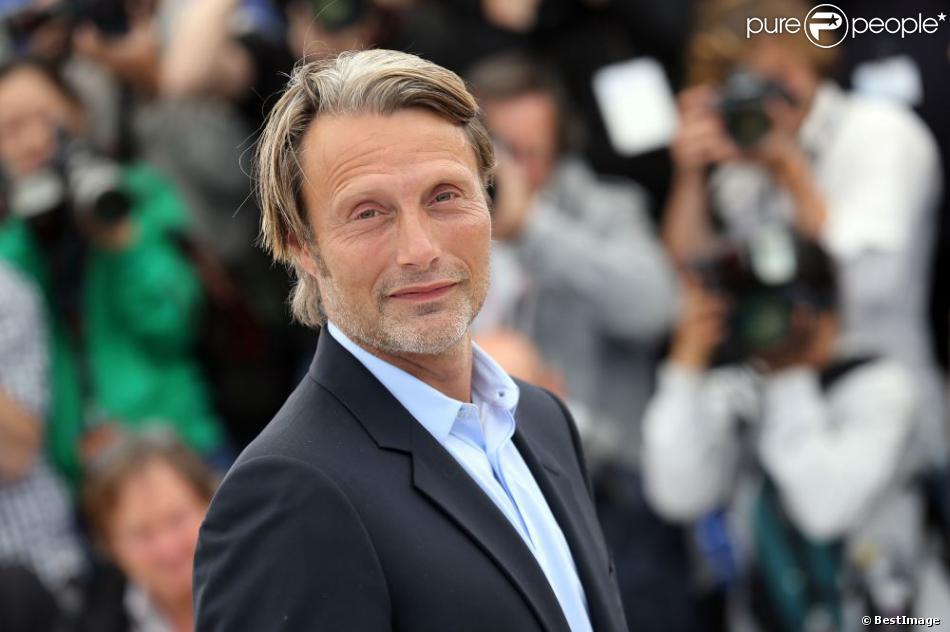 Mads Mikkelsen pendant le photocall du film Michael Kohlhaas au Festival de Cannes le 24 mai 2013.