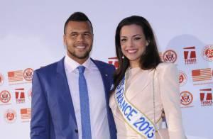 Roland-Garros : Jo-Wilfried Tsonga charmé par la Miss France Marine Lorphelin