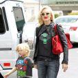Gwen Stefani et son fils Zuma à Los Angeles, le 24 mai 2013.