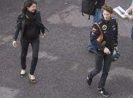 GP de Monaco : Marion Jollès-Grosjean enceinte et parterre de VIP sur le Rocher