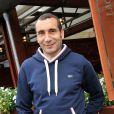 Zinedine Soualem au Village Roland-Garros le 26 Mai 2013 lors du premier jour des internationaux de France