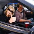 Ryan O'Neal et Farrah Fawcett à Los Angeles, le 12 décembre 2006.