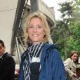 Natacha Régnier à Roland-Garros lors du cinquième jour des Internationaux de France le 30 mai 2013