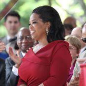 Oprah Winfrey : Emue aux larmes, la star reçoit un prestigieux diplôme