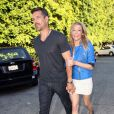 LeAnn Rimes et Eddie Cibrian se rendent au théâtre à Beverly Hills, le 24 juin 2012.