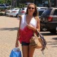 LeAnn Rimes fait du shopping à Malibu le 3 mai 2013.