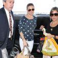 LeAnn Rimes arrive à l'aéroport de Los Angeles, le 7 mai 2013.